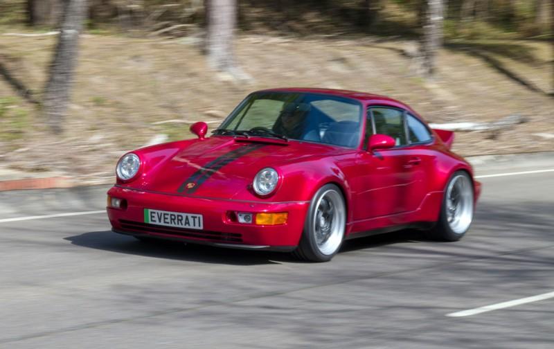 Electric Elegance: The Everrati Electric Porsche 911 (964) Coupe