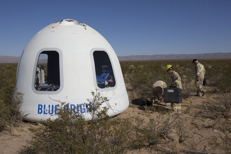 Confirmed: Jeff Bezos Will Join Auction Winner on Blue Origin Space Mission