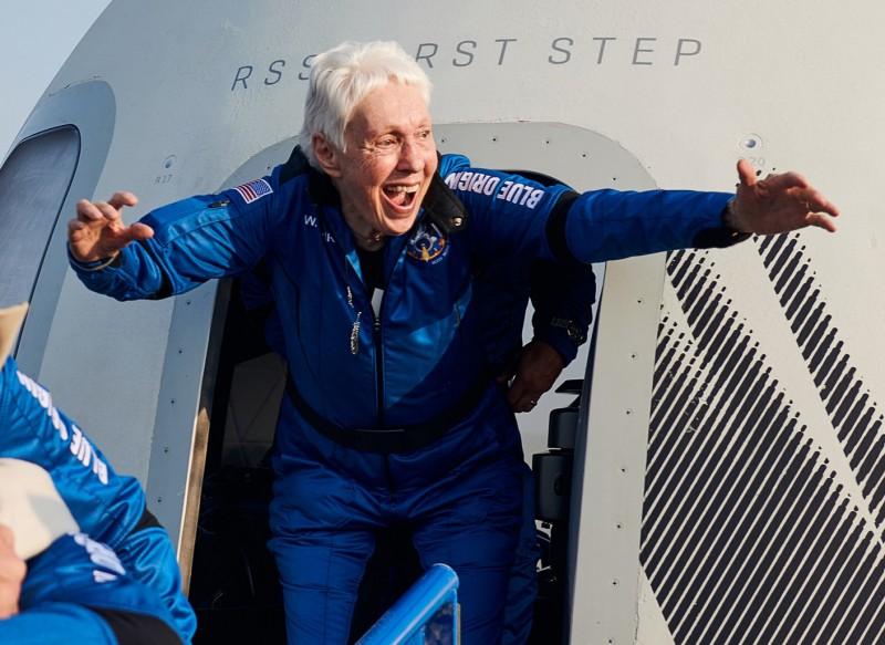 Wally Funk is Blue Origin's Next Space Passenger