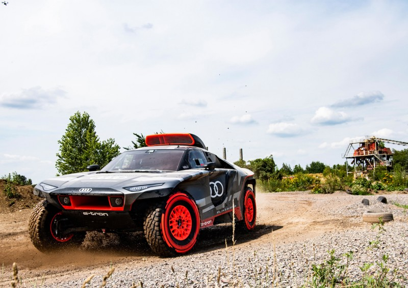 Audi's Eco-Friendly Vehicle to Compete in the 2022 Dakar Rally