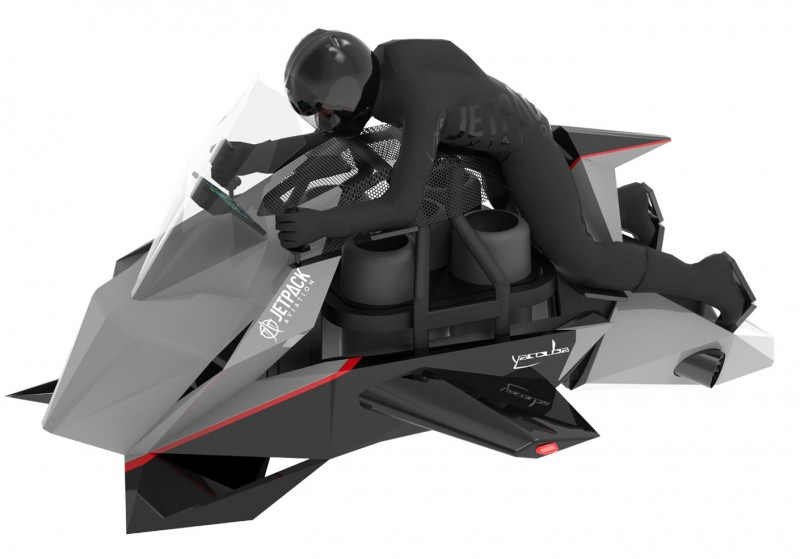 World's First Flying Motorcycle Lifts Off in 2023