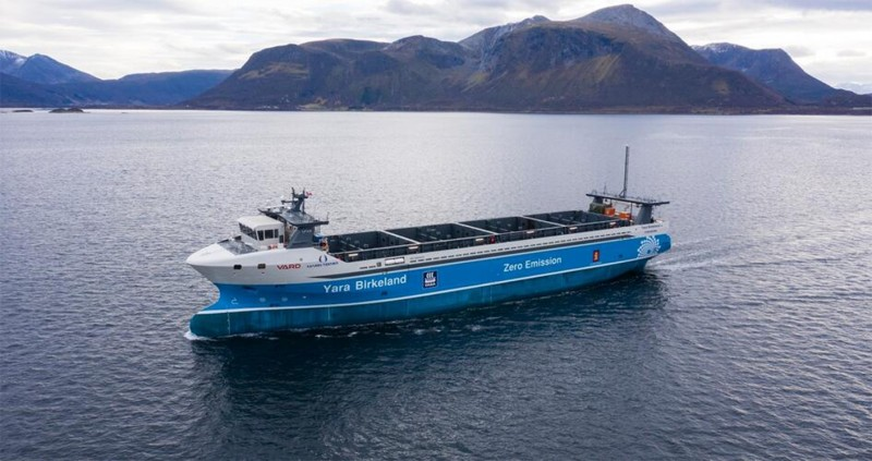 Norway To Host Launching Of Zero-Emissions Cargo Ship