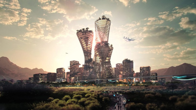 Telosa - The World's Most Sustainable City Expected To Be Operating by 2030