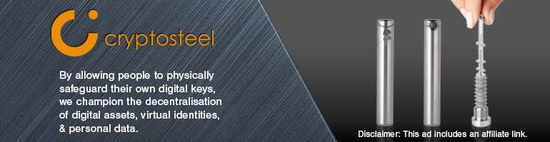 Cryptosteel | Physically safeguard your digital keys