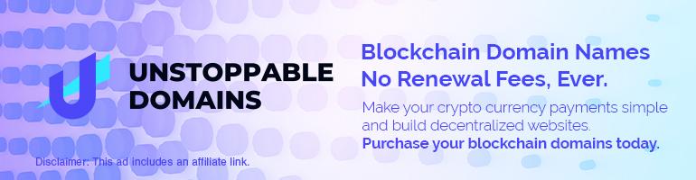 Unstoppable Domains | Blockchain Domain Names