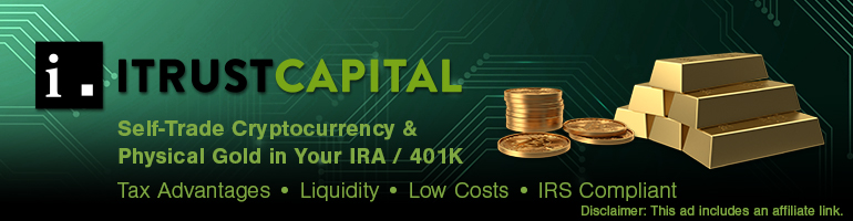 iTrust Capital | Self-Trade Cryptocurrency & Physical Gold in Your IRA/401K